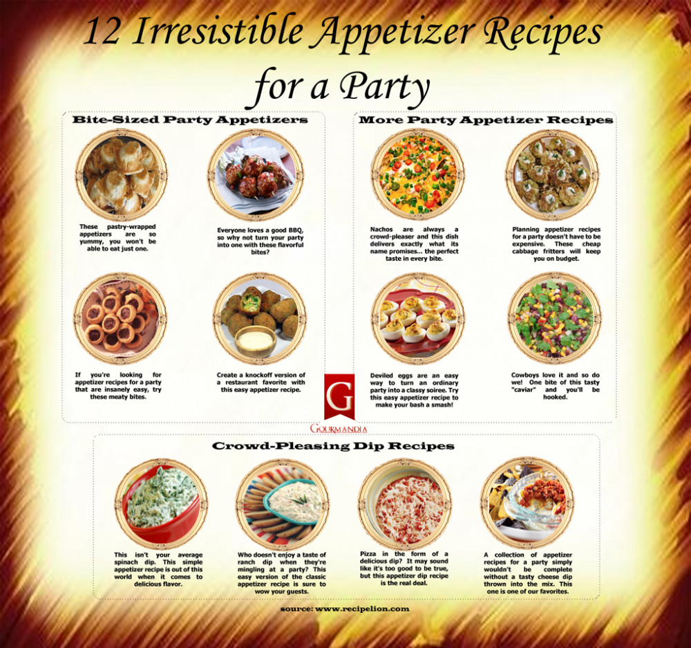 12 Irresistible Appetizer Recipes Party