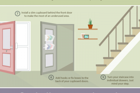 12 Tips and Tricks To Make The Most Of Your Hallway Infographic