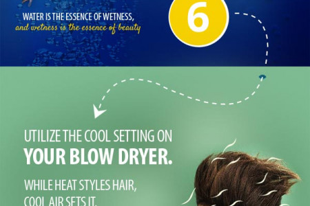 12 ways to avoid a bad hair day Infographic