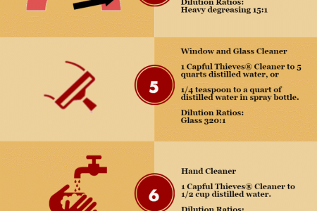 13 DIY Thieves Household Cleaner Recipes Infographic Infographic