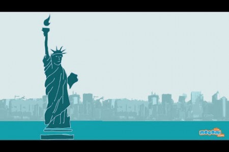 13 Facts about The Statue of Liberty Infographic