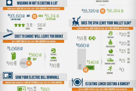 13 Money-Saving Tips for 2013 Infographic
