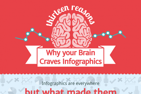 13 Reasons Your Brain Craves Infographics Infographic