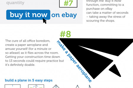 13 Things To Do In 13 Seconds Infographic