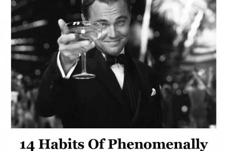 14 Habits Of Phenomenally Likable People  Infographic