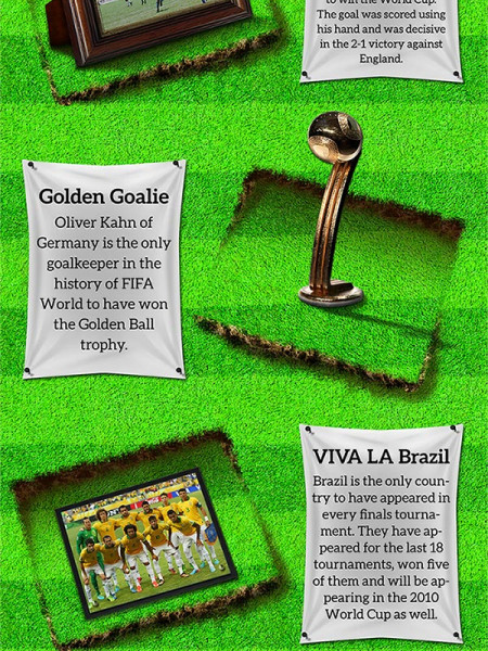 15 Amazing Things You Didn't Know about the FIFA World Cup Infographic