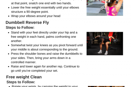 15 Best Dumbbell Exercises for Building Muscle Infographic