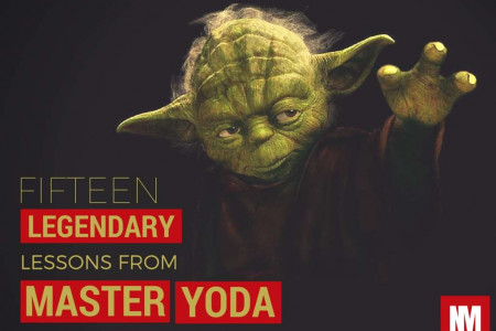 15 Legendary Lessons From Master Yoda!  Infographic