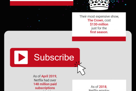 15 Surprising Facts About Streaming Giant Netflix Infographic