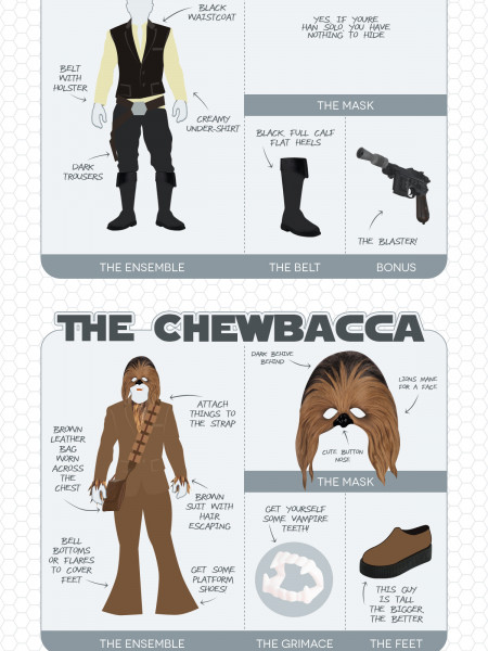 15 Incredible Star Wars Masquerade Costumes Infographic