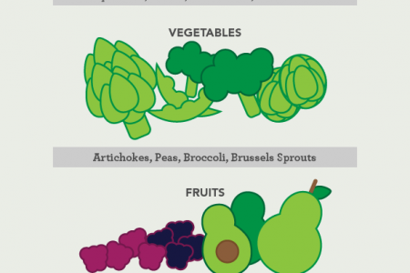 16 Healthy High Fiber Foods Infographic