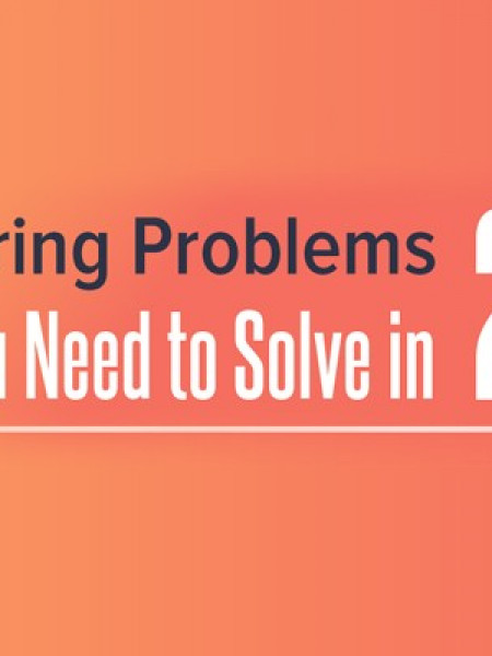 16 Hiring Problems You Need to Solve in 2016 Infographic