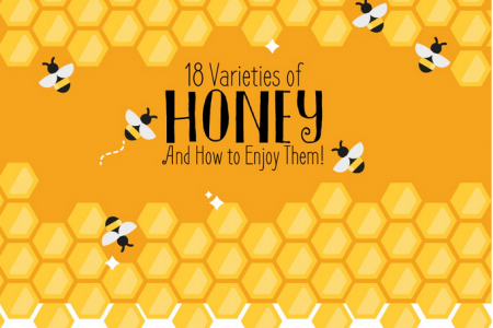 18 Varieties of Honey and How to Enjoy Them! Infographic