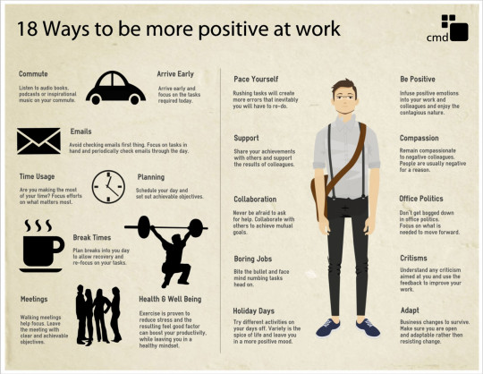 18 Ways To Be More Positive In The Office