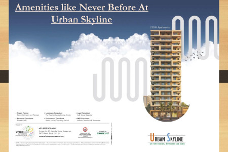 2 bhk apartments in urban skyline ravet with uv disinfections Infographic