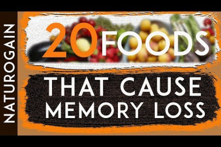 20 Bad Foods for Brain, Cause Memory Loss (MUST AVOID) Infographic