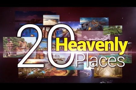 20 Heavely Places in the world Infographic
