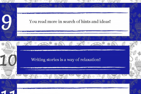 20 Reasons to Write a Tale Infographic