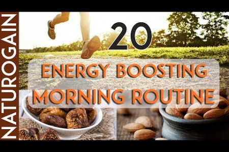 20 Simple Habits That Give You [FULL] Energy from Morning to Night Infographic