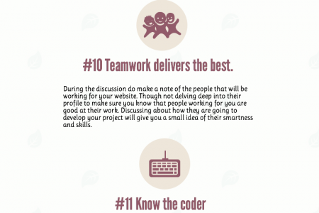 20 Tips: Finding an Ideal Web Design Agency Infographic