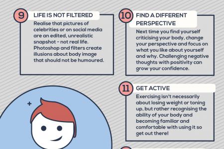 20 Tips To Skyrocket Your Confidence Infographic