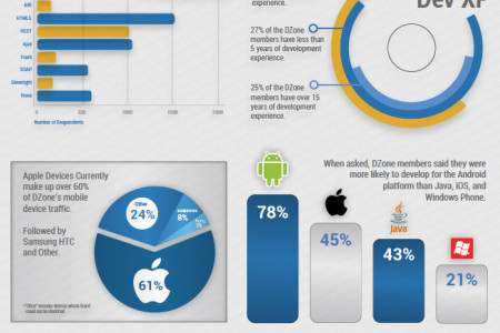 2012 DZone Developer Profile Infographic