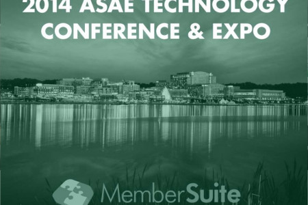 2014 ASAE Technology Conference & Expo Presentation from MemberSuite #Tech14 Infographic