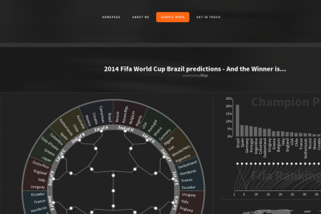 2014 Fifa World Cup Predictions - And the Winner is... Infographic