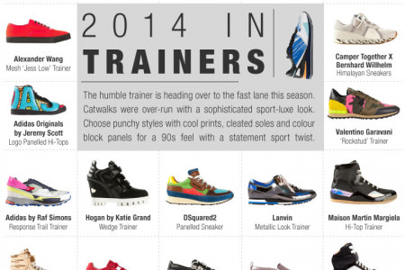2014 In Trainers Infographic