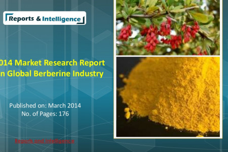 2014 Market Research Report on Global Berberine Industry Infographic