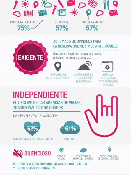 2014: Retrato de un Viajero Global Infographic