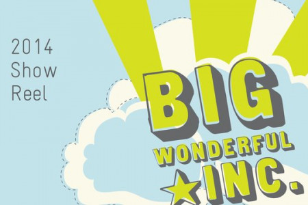Big Wonderful 2014 Show Reel Infographic
