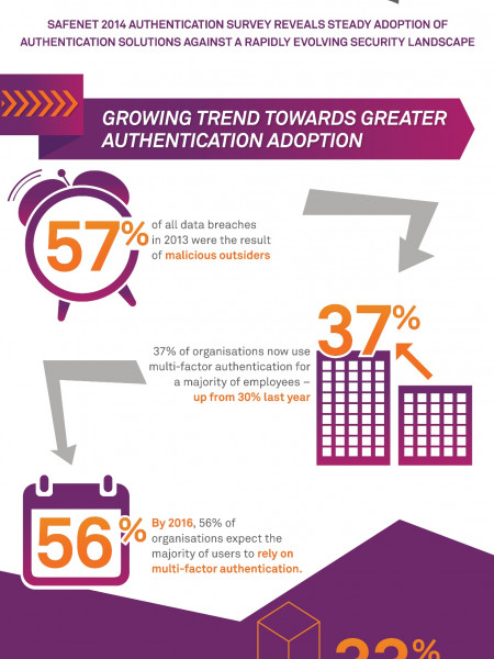 2014 Global Authentication Survey Results Infographic