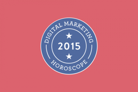 2015 Digital Marketing Horoscope Infographic
