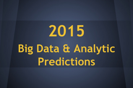 2015 predictions for data crawling, Big Data & Analytics Infographic