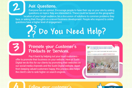 2015 Tips for Boosting Customer Engagement on Your Website Infographic