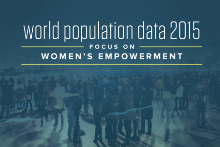 2015 World Population Data Sheet Infographic