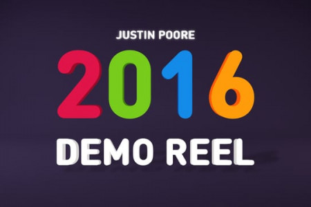 2016 Animation Demo Reel Infographic