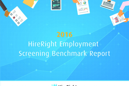 2016 HireRight Employment Screening Benchmark Report Infographic