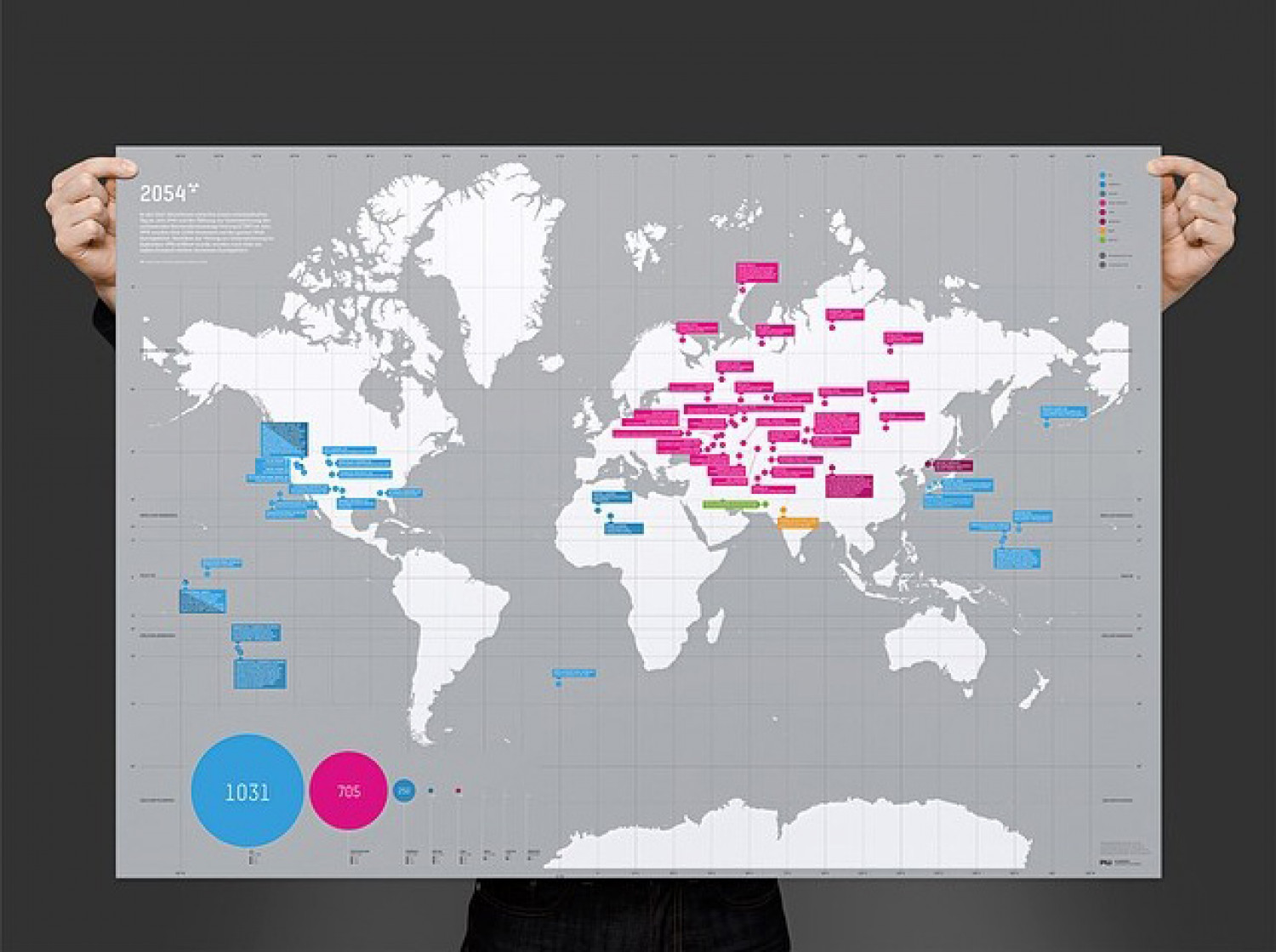 2054 - THE MAP OF MADNES Infographic