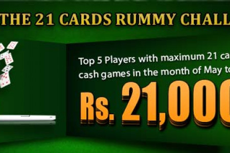 21 card rummy challenge Infographic