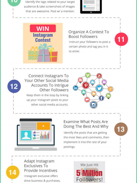 25 Top Instagram Marketing Tips from the Pros Infographic