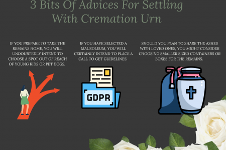 3 Bits Of Advices For Settling With Cremation Urn Infographic