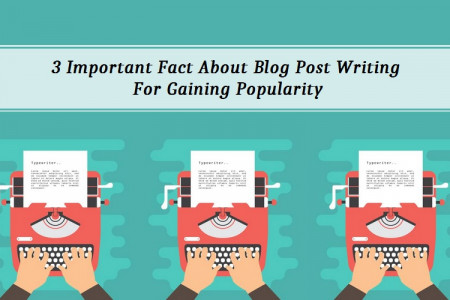 3 Important Fact Of Blog Post Writing For Gaining Popularity  Infographic