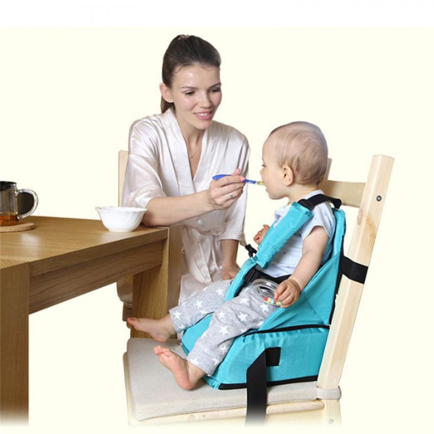 3 In 1 Waterproof Mommy Bag Portable Infant Seat   Best Choice Products Infographic