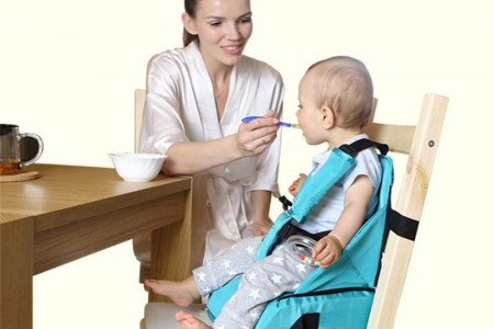3 In 1 Waterproof Mommy Bag Portable Infant Seat | Best Choice Products Infographic