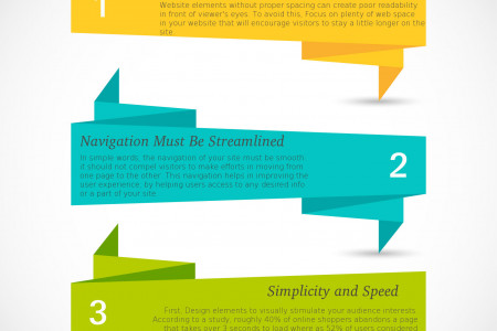 3 Key Elements For Creating an Award-winning WordPress Website Infographic