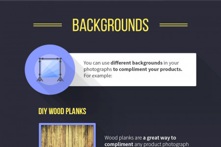 3 Professional Tips for Superior Product Photography Infographic