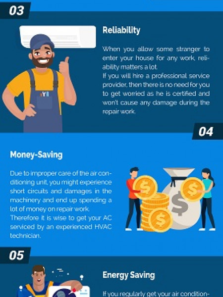 3 Reasons To Hire A Professional Air Conditioning Repair Service Provider Infographic