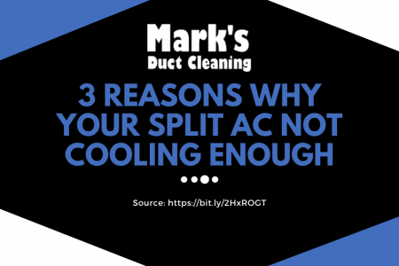 3 Reasons Why Your Split AC Not Cooling Enough  Infographic